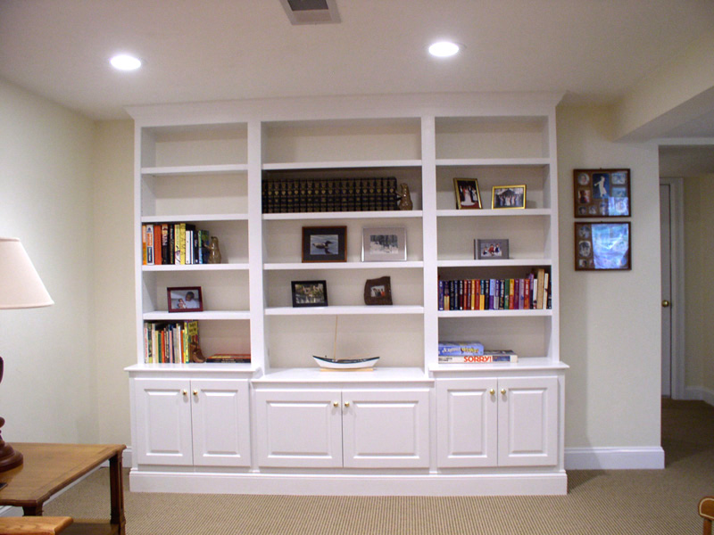 Custom Living Room Shelving Albuquerque