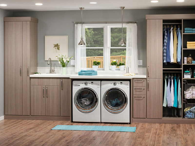 Custom Laundry Room Cabinetry Albuquerque