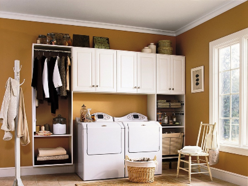 Custom Laundry Room Cabinets Albuquerque
