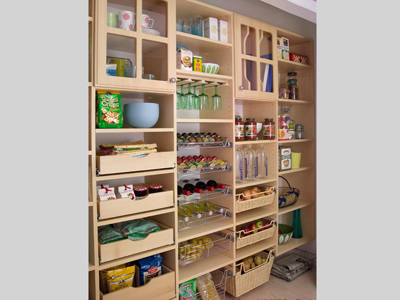 Custom Kitchen Pantry Albuquerque