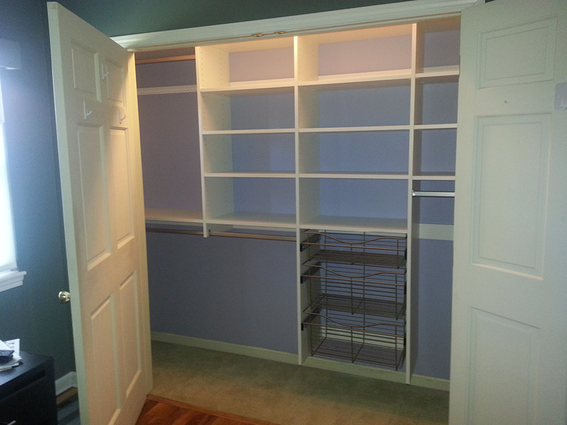 Custom Reach In Closet Albuquerque