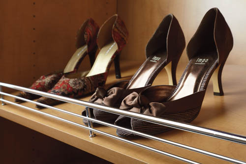 Custom Shoe Shelf for Closet